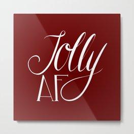 Jolly AF Metal Print