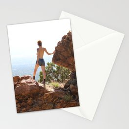 Divine Feminine Stepping into Power Stationery Cards