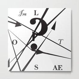 Lost AF Metal Print