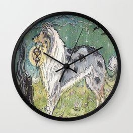 'I'll guide you home, little friend' Wall Clock