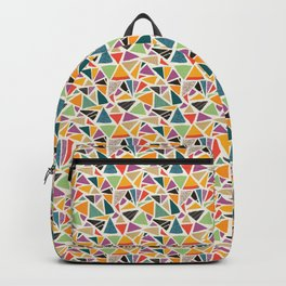 Triangle Treat Mosaic Backpack