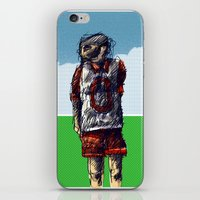 football iPhone & iPod Skins featuring football by jenapaul