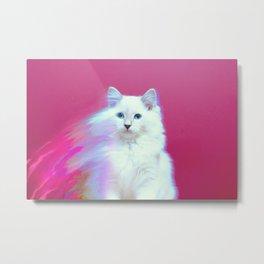 Spirit Kitty Metal Print