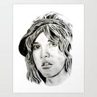 stevie nicks Art Prints featuring Stevie Nicks - Fleetwood Mac by Stu_JH_88