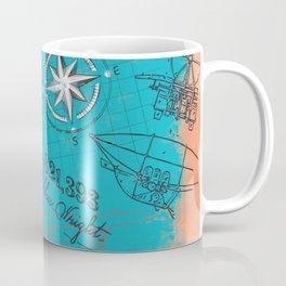 Retro flying Coffee Mug