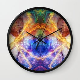 Child Of the Cosmos Wall Clock