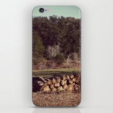 Ranch Firewood iPhone & iPod Skin