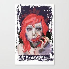 First Taste Canvas Print