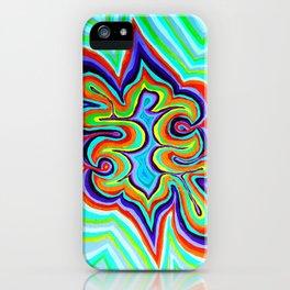Energy Rectangle iPhone Case