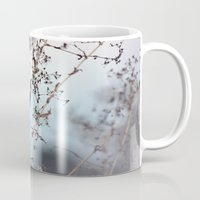 poem Mugs featuring poem building by Sarah E. Roy