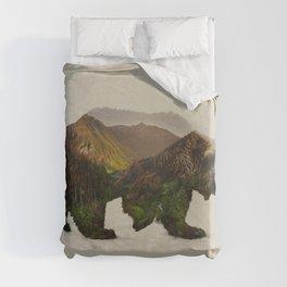 North American Brown Bear Duvet Cover