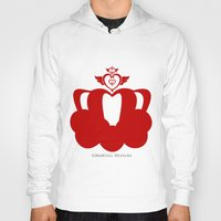 martell Hoodies featuring Sailor Moon Inspired Crown Red by G Martell