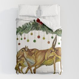 Saiga Antelope Comforters