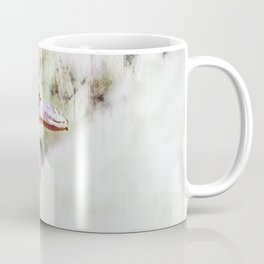 artistic duck as animal background Coffee Mug