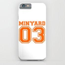 Minyard 03 iPhone Case