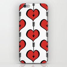 Loving You red hearts iPhone & iPod Skin