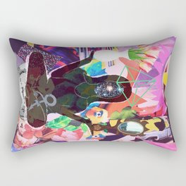 YOGA Girl Rectangular Pillow