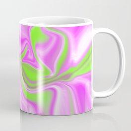 Neon Watermelon Trippy Tye Dye Coffee Mug
