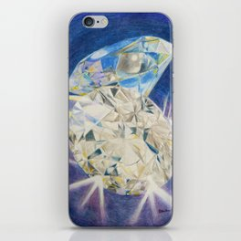 Blue Diamond iPhone Skin
