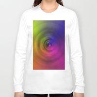 bond Long Sleeve T-shirts featuring SPIRAL BOND by Robert Gipson