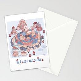 Let Us Eat Cake Stationery Cards