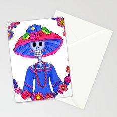 Catrina Doña Adela Stationery Cards