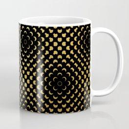 Black and gold pattern Coffee Mug