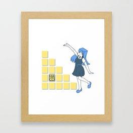 HACO chan Framed Art Print