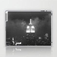 Gotham city in black and white Laptop & iPad Skin