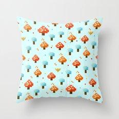 Mushroom Throw Pillow