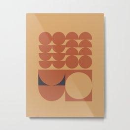 Brown Metal Print