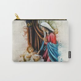 Joseph Mary and Jesus Carry-All Pouch