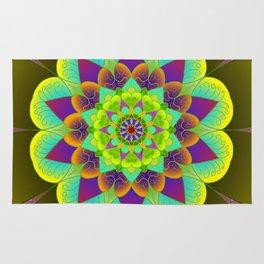 Bright mandala Rug