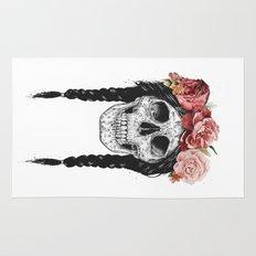 Festival skull Rug