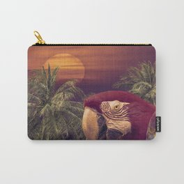 Tropical Style Collage Design Poster Carry-All Pouch