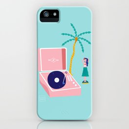 The Hula Dancer iPhone Case