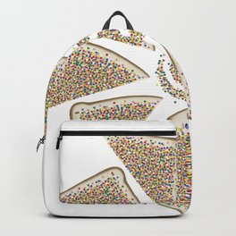Fairy bread spiral Backpack