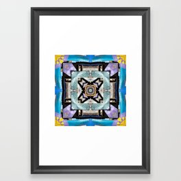 La Valla Framed Art Print