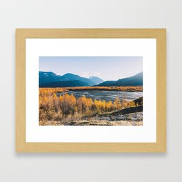 Alaskan Autumn - Kenai Fjords National Park Framed Art Print