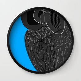 Ruthless Pigeon  Wall Clock