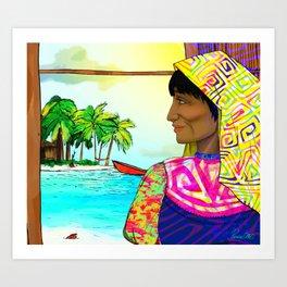 Gunadise Art Print