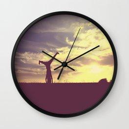 Cartwheel  Wall Clock