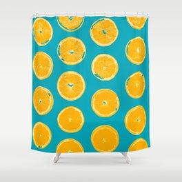 Summer Lemons Shower Curtain