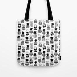 Geometric Pineapples Tote Bag