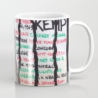 nba Mugs featuring NBA PLAYERS - Shawn Kemp by Ibbanez