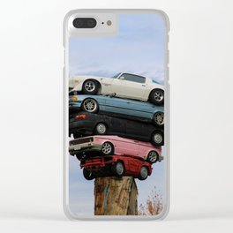 pile up Clear iPhone Case