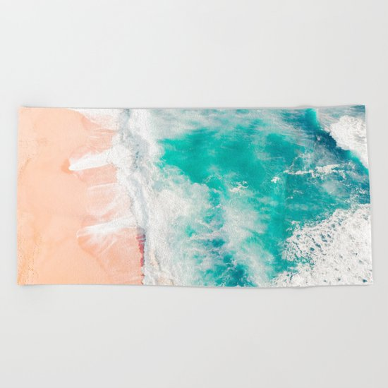 Lovely Tropics Beach Towel