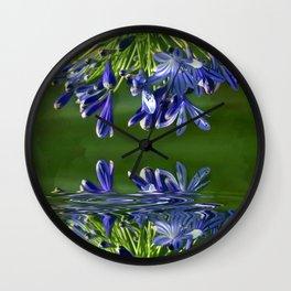 Agapanthus Wall Clock