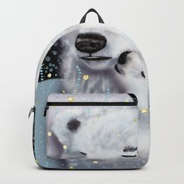 Mom and Baby // Winter polar bears  Backpack
