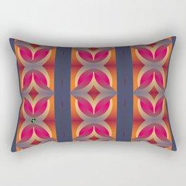 70's Geometric 1 Rectangular Pillow